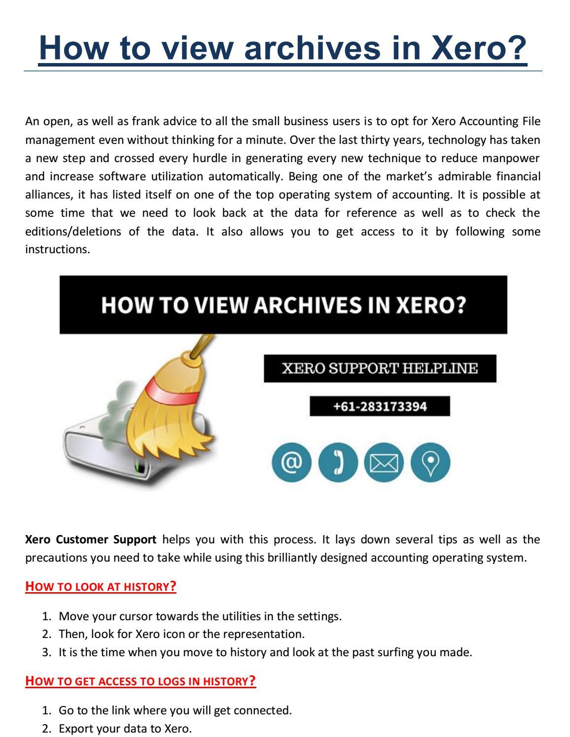 Xero Support , Xero Support Australia Helpline Number 1800-952-982