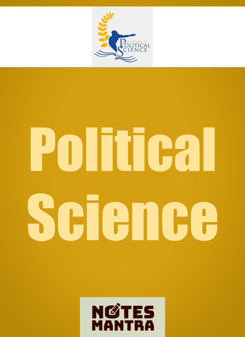 political science notes Ma political science notes in urdu part one paper 1 western political thought western political thought.